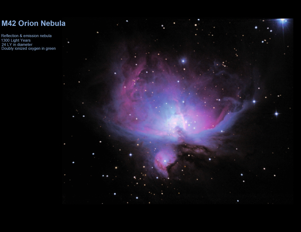 orion nebula distance from earth - HD1056×816